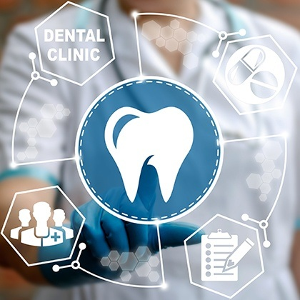 Animation of dental insurance claims process